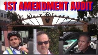 1st Amendment Audit, Walt Disney Studios: FOLLOWED & SURVEILLED