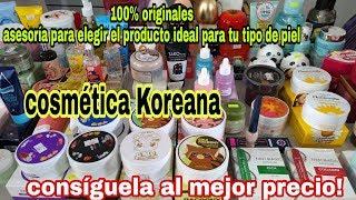 Productos coreanos al mejor precio/100% originales.