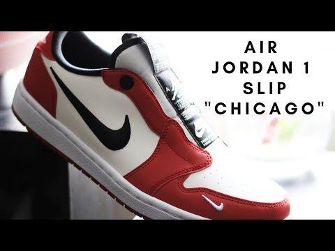 e09d96d931fdc4 Unboxing The Air Jordan 1 Slip