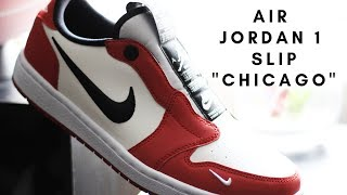 3a551eb72c53e1 air-jordan-1-low-slip-chicago Search on EasyTubers.com youtube ...