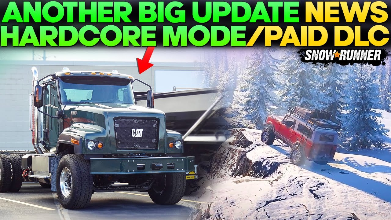 Another Big Update Hardcore Mod and Paid DLC News in SnowRunner You Need to Know
