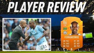 86 MOTM FERNANDINHO PLAYER REVIEW - FIFA 21 ULTIMATE TEAM