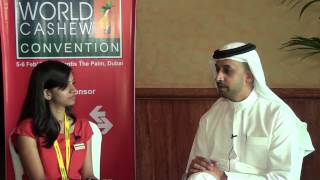 Interview with Ahmed Bin Sulayem, Executive Chairman, DMCC at World Cashew Convention