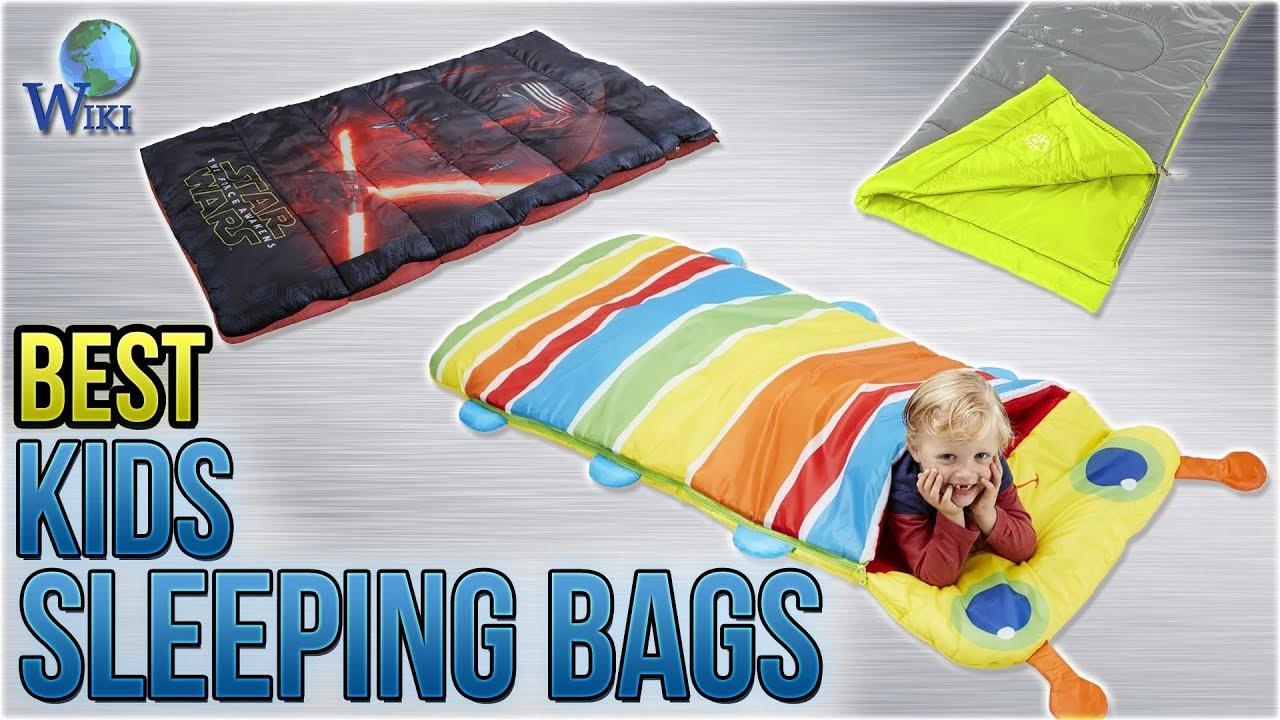10 Best Sleeping Bags For Kids 2018
