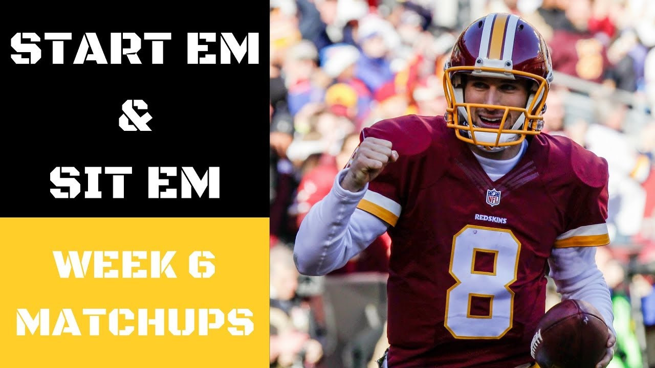 NFL Week 6 Start Em and Sit Em Matchups   Fantasy Football ...
