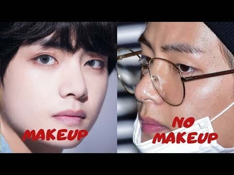 Here's How Each BTS Member Looks Without Makeup