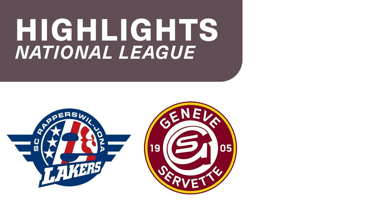 SC Rapperswil-Jona Lakers vs. Genève-Servette HC 2:4 – Highlights National League