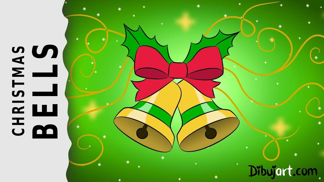 How to draw Christmas Bells — Weihnachtsglocken zeichnen #1