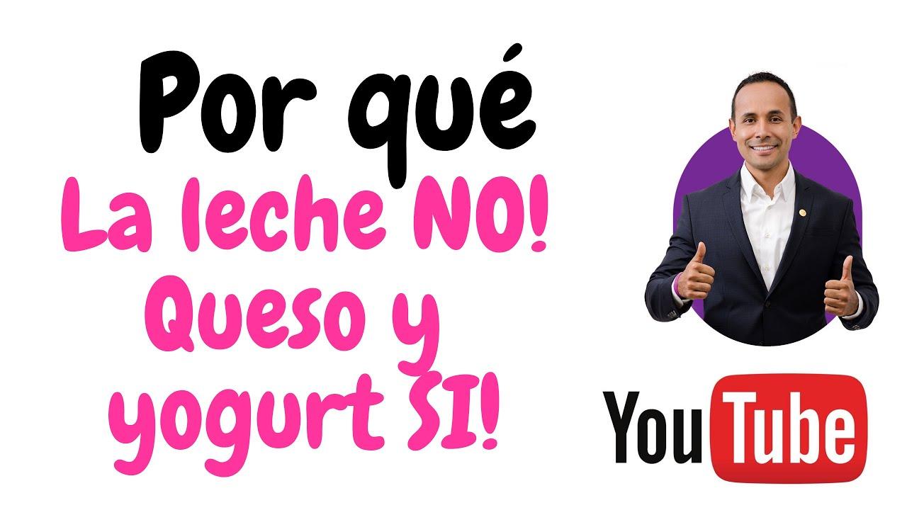 LECHE NO, QUESO Y YOGURTH SI