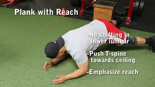 Plank with Reach