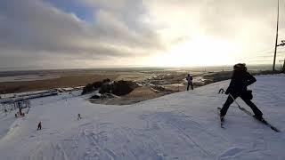 Открыл горнолыжный курорт в туттари парк