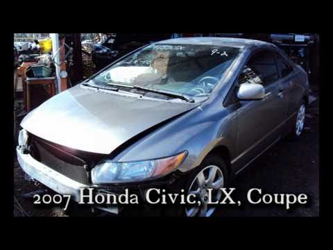2007 Honda Civic Coupe parts AUTO WRECKER RECYCLER anhdonline.com Acura used