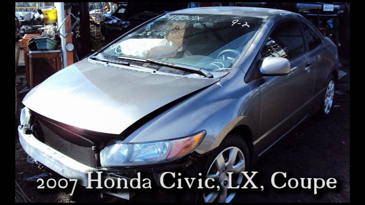 2007 honda civic coupe hood