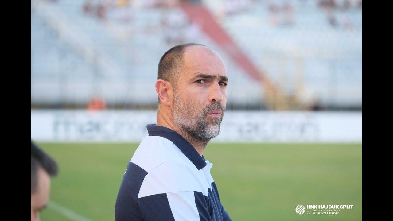 Trener Igor Tudor nakon utakmice Hajduk - Osijek 0:1