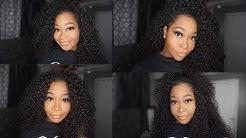 HOW TO MAKE A (NO FRONTAL/CLOSURE) VERSATILE WIG | Aliexpress Tinashe Hair