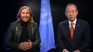 David Guetta & Secretary-General Philippines Appeal