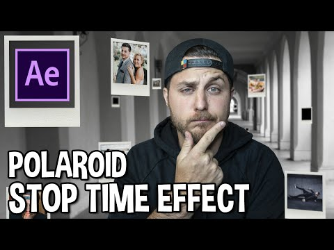 Polaroid Stop Time Effect - After Effects 3D Camera Tracking Tutorial
