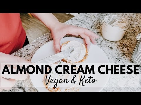 Almond Dairy Free Cream Cheese | Vegan Keto Paleo