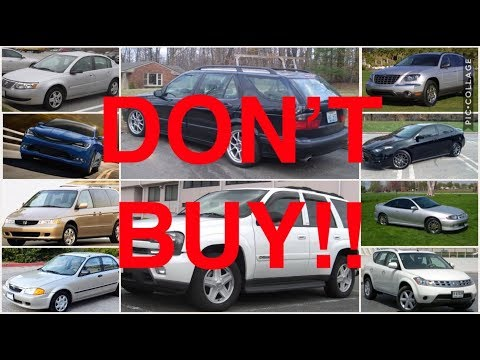10 Used Cars You Should NEVER Buy (PART 7)