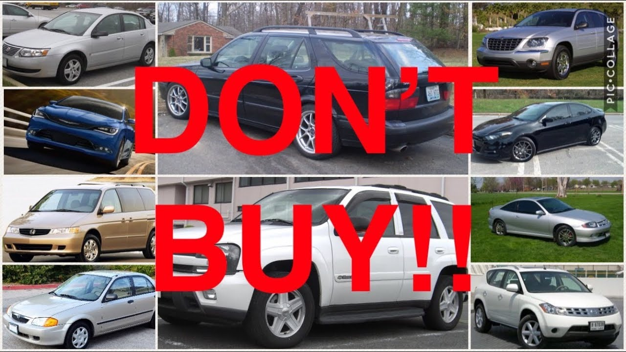 10 Used Cars You Should NEVER Buy (PART 7) - YouTube