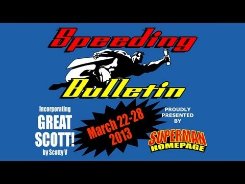 "Official ""Man of Steel"" T-Shirt - Speeding Bulletin (March 22-28, 2013)"