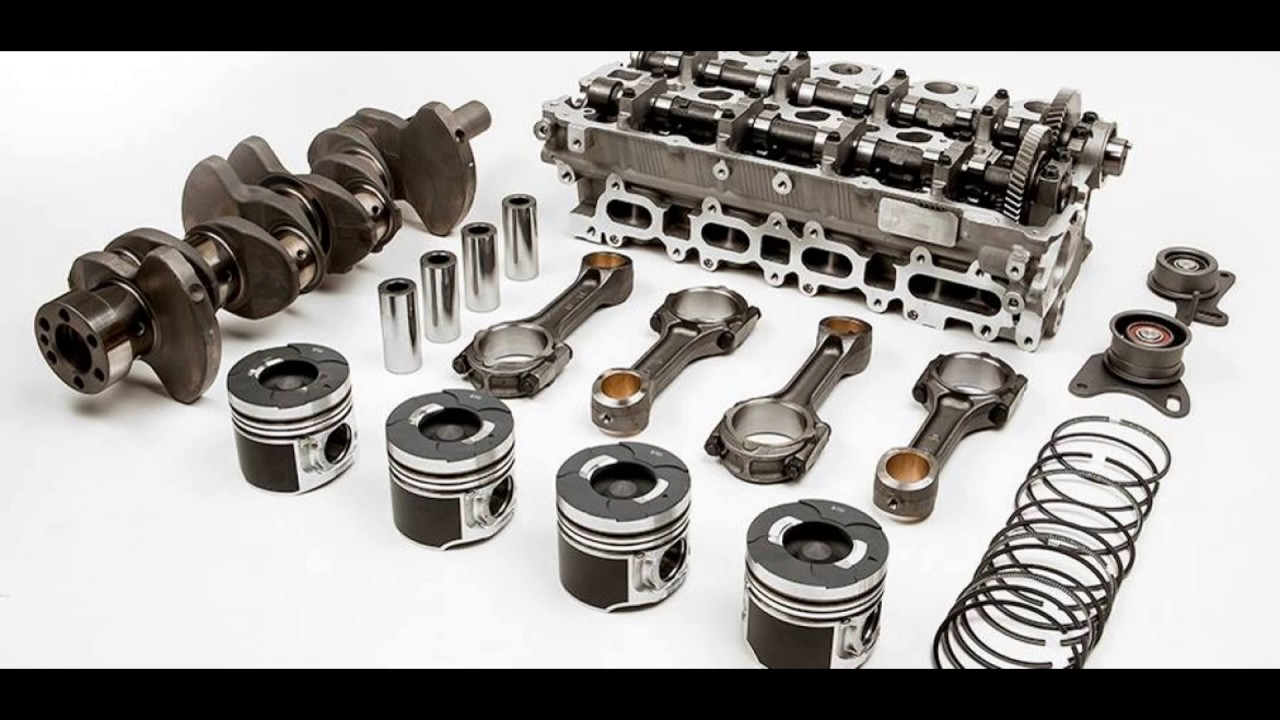 CAR ENGINE PARTS - YouTube