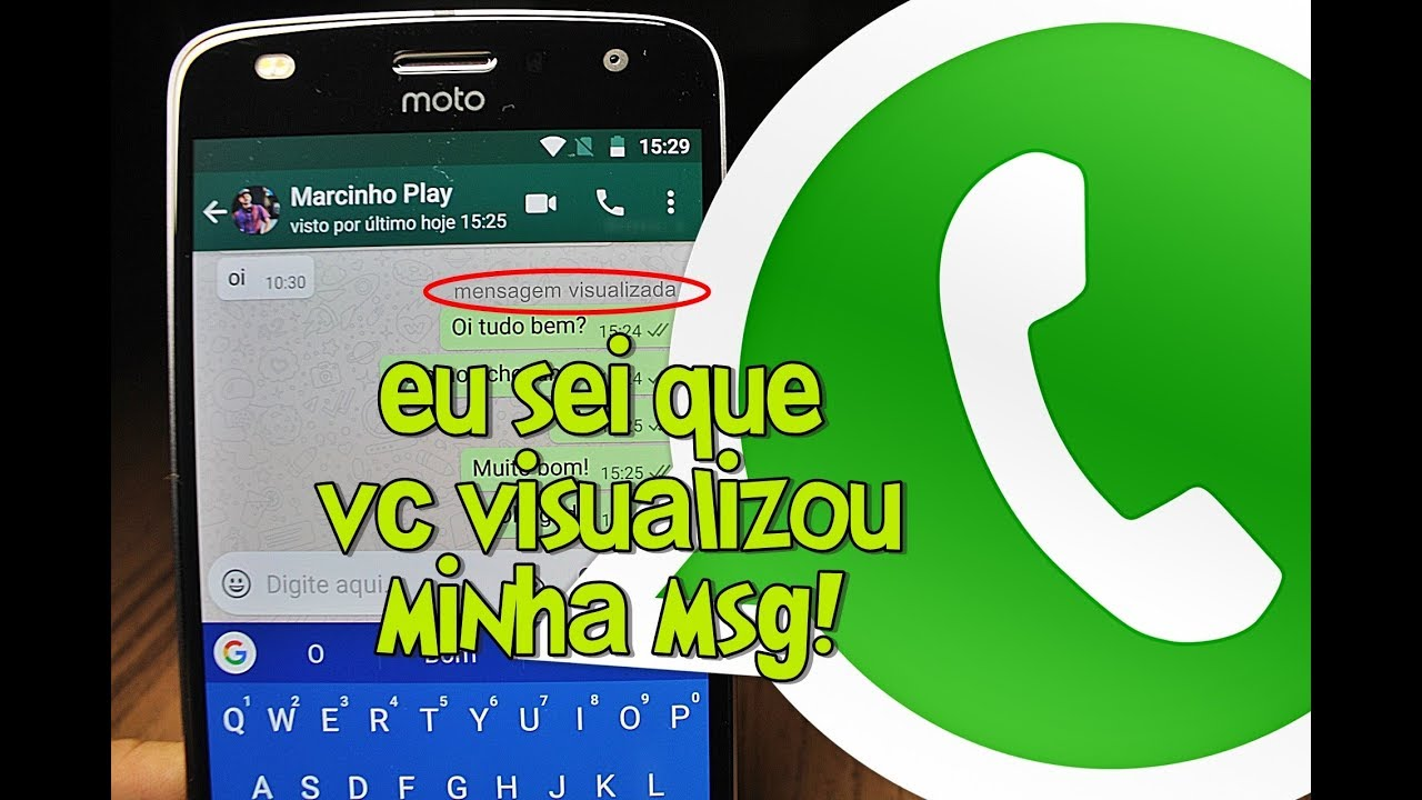 Whatsapp Saiba Se A Pessoa Visualizou Msg Enviada Mesmo Estando