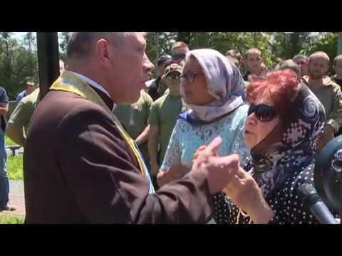 Актуальний репортаж. Конфлікт біля церкви московського патріархату в Коломиї