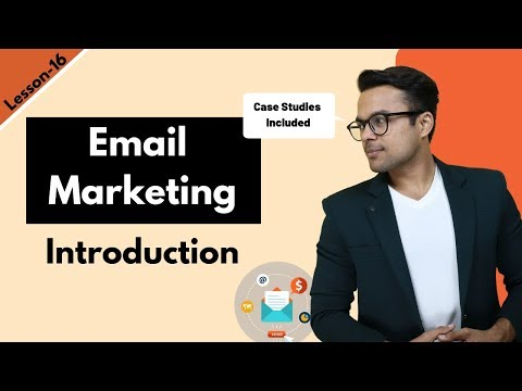 Lesson-15: Email Marketing for beginners ($0 to $10,000/month) – With Case studies | Ankur Aggarwal