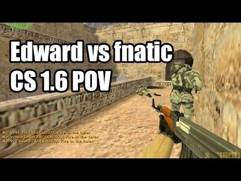 POV: Edward vs. fnatic @ESWC Na'Vi CS 1.6 Demo