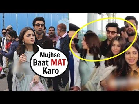 Alia Bhatt IGNORES Ranbir Kapoor After FIGHT Over Ex Sidharth Malhotra