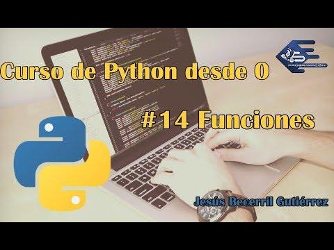 Tutorial Python 3 #14 Funciones thumbnail