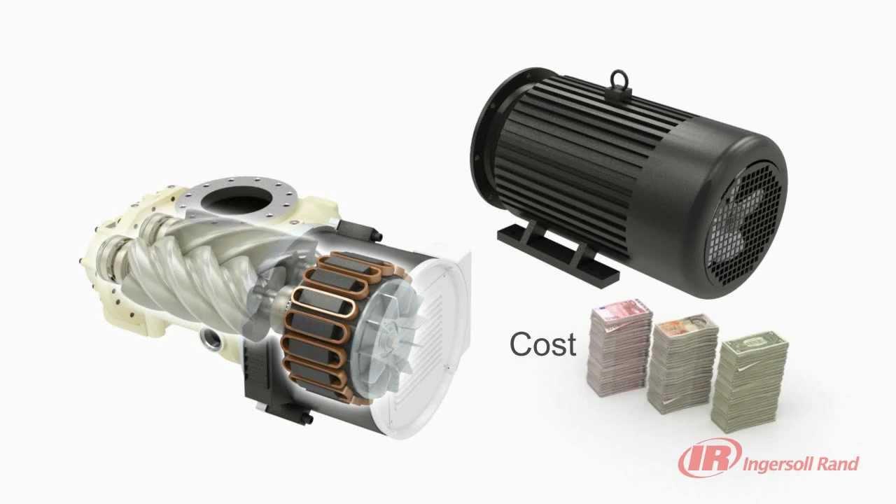 Ingersoll Rand R Series Air Compressor Hybrid Permanent