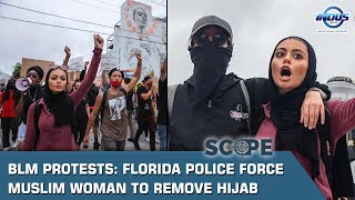 BLM Protests: Florida police force Muslim woman to remove hijab | Scope | Indus News