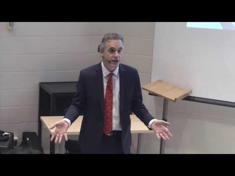 Dr Jordan Peterson providing advice for creatives