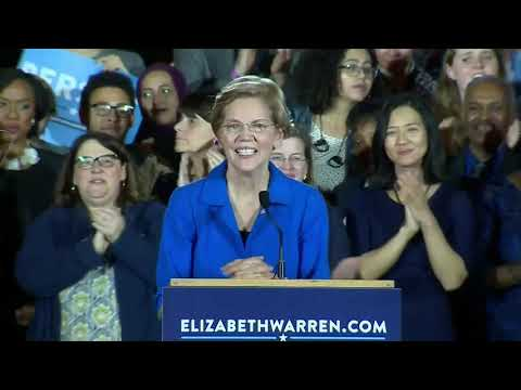Sen. Elizabeth Warren to voters: 'You told me to stay in the fight'