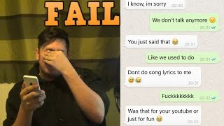 SONG LYRIC PRANK ON FRIEND (GONE WRONG)