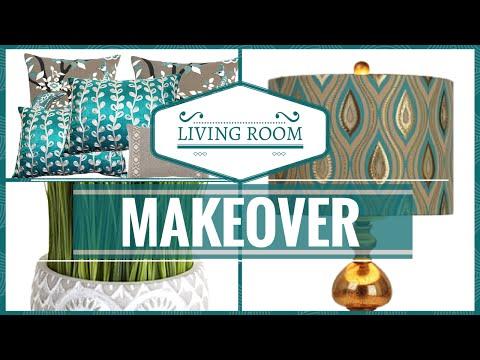 HOME DECOR Living Room Decorating Tips/Makeover
