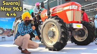 New Swaraj Tractor 963 4WD Price Specifications in india 2018|2wd vs 4wd Model in Hindi