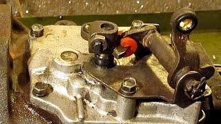 Ремонт привода переключения передач Москвич 408/412/2140