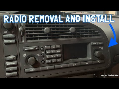 Saab 9-3 Quick Fix – 2003-2006 Radio Removal and Replacement