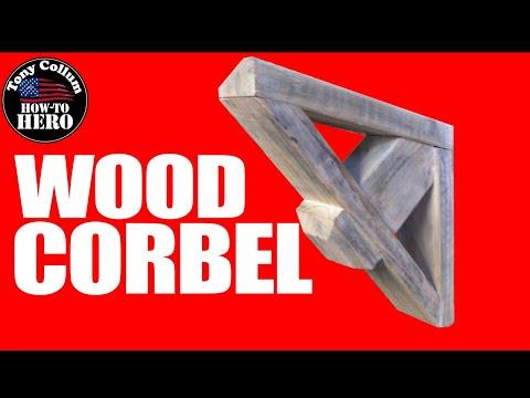 Simple Wood Corbels | 2x4