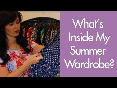 What's Inside My Summer Wardrobe? | Vlog