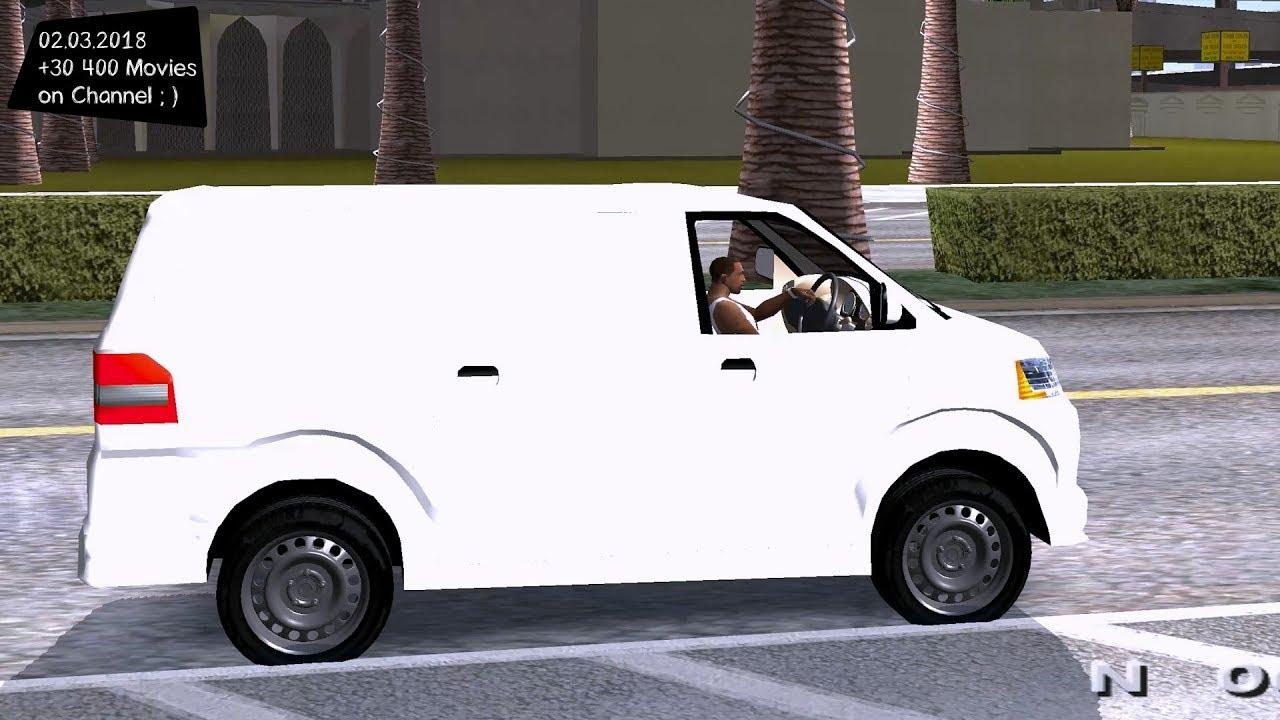 Suzuki Apv Blind Van Grand Theft Auto San Andreas Gta Sa Mod
