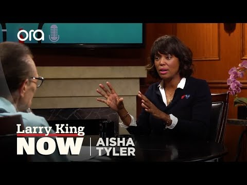 Why Aisha Tyler left 'The Talk' | Larry King Now | Ora.TV