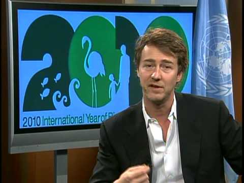 Message from Edward Norton - United Nations Goodwill Ambassador for Biodiversity