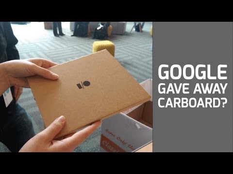 Google I/O 2014 Cardboard. Was it Awesome or Terrible?