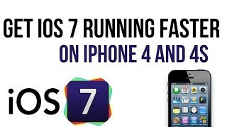 Repeat youtube video How to get ios 7 running faster on older devices (iPhone 4/4S )