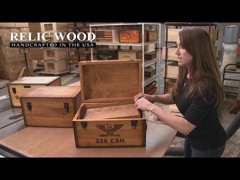 Custom Military Keepsake Box