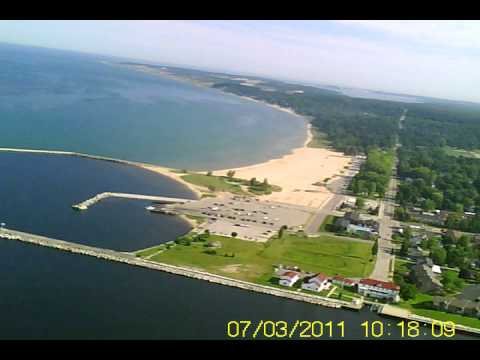 Gliding over Ludington